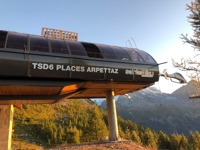 New Chairlift in Sainte Foy (Not the Official Engineer's Report) ~ Part 11